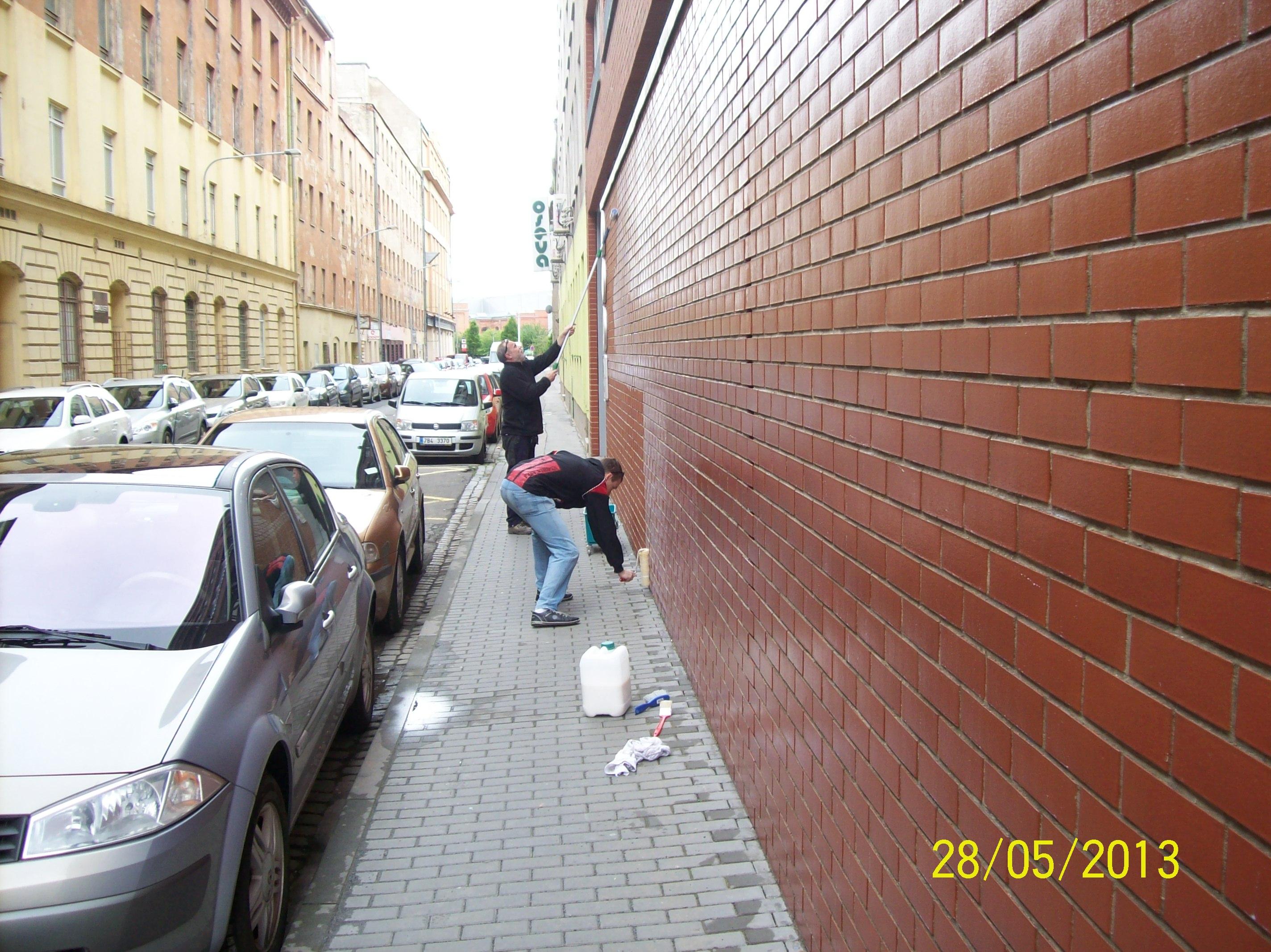 Antigraffitový nátěr Ostrava