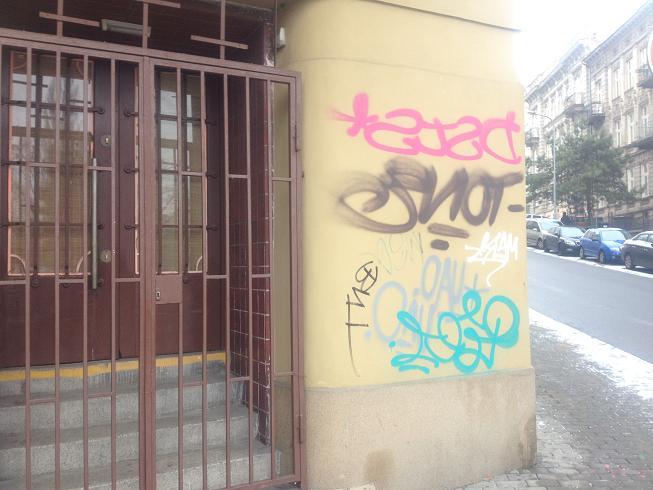 Odstranění, likvidace graffiti