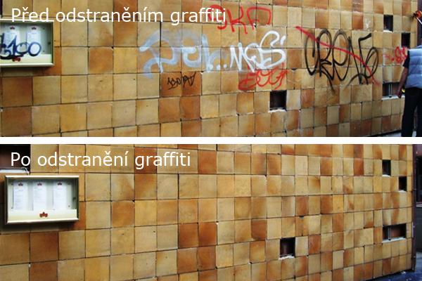 Anti-graffiti, odstranění grafitů Praha