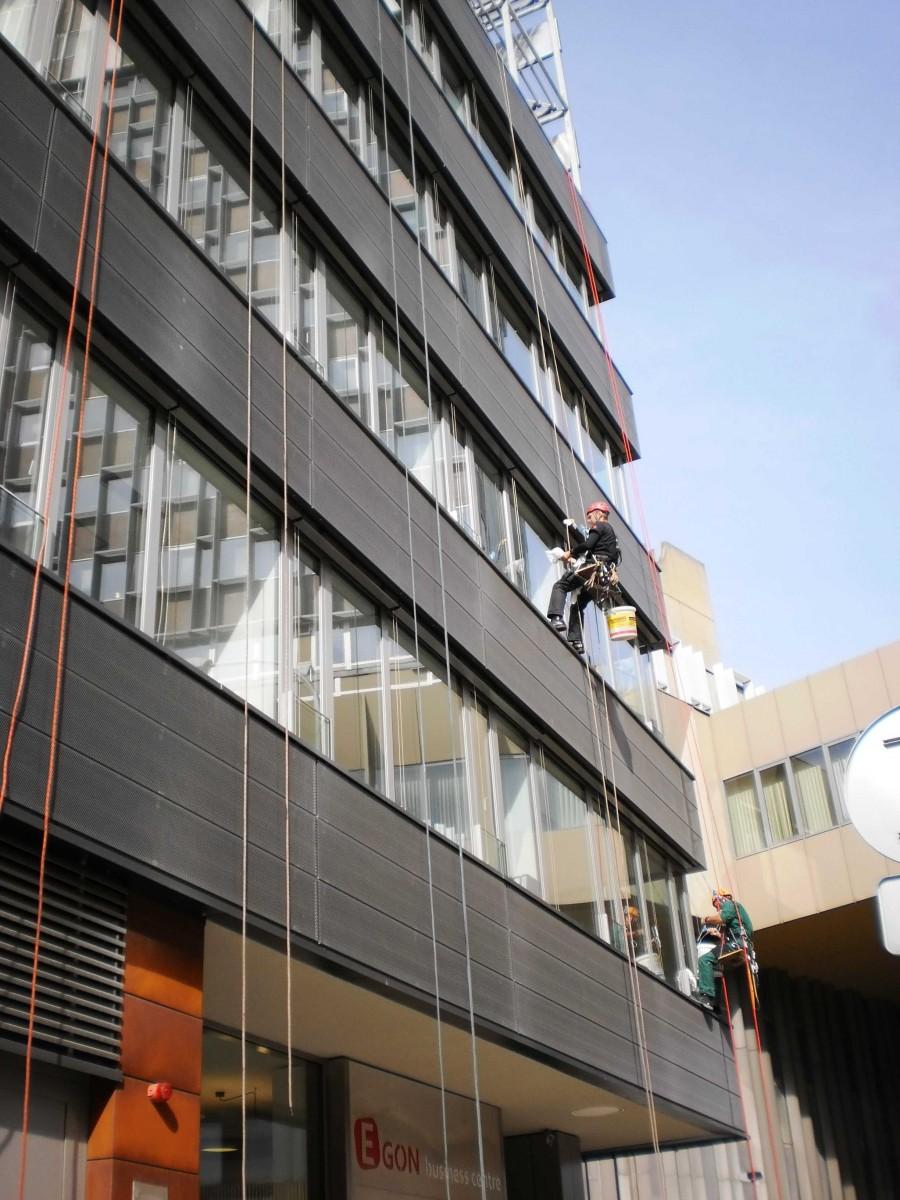 Nano lotosový efekt, mytí oken Brno